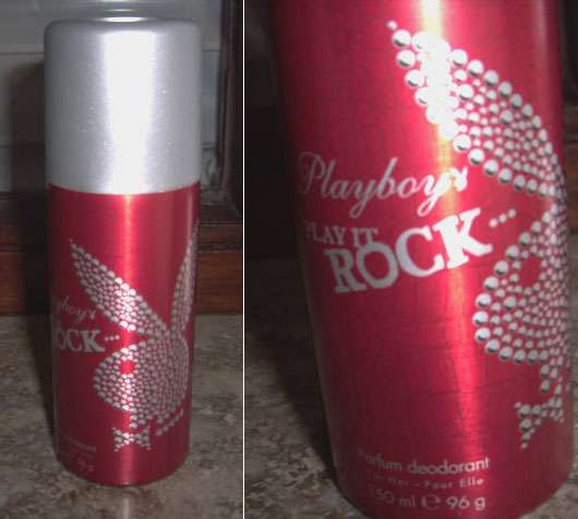 Playboy Play It Rock Parfum Deodorant