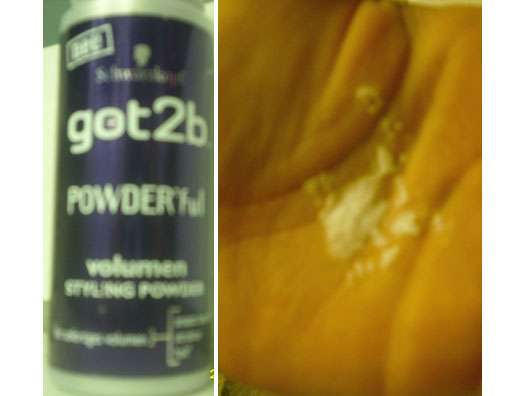 Schwarzkopf got2b Powder'ful Volumen Styling Powder