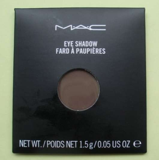 M.A.C. Eye Shadow, Farbe: Espresso