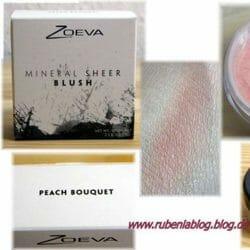 Produktbild zu ZOEVA Mineral Sheer Blush – Farbe: Peach Bouquet