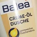 Balea Creme-Öl Dusche Marulanussöl & Milchprotein