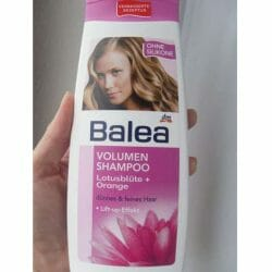 Produktbild zu Balea Volumen Shampoo Lotusblüte + Orange