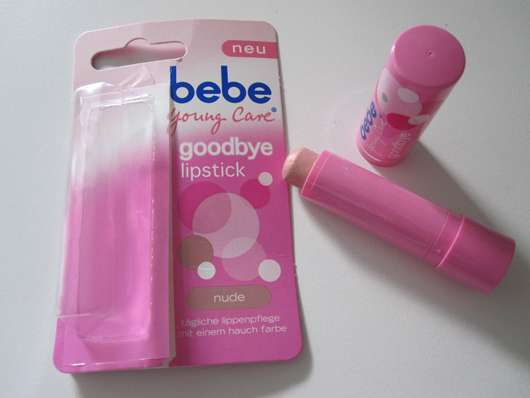 bebe Young Care goodbye lipstick, Farbe: nude