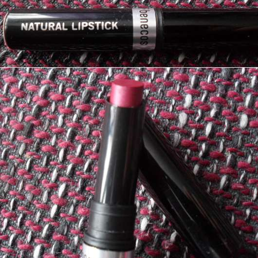 benecos Natural Lipstick, Farbe: Exciting (LE)