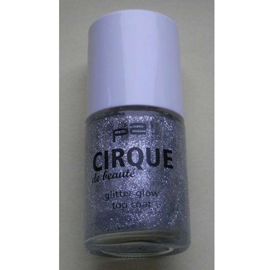 p2 cirque de beauty glitter glow top coat, Farbe: 010 shimmering moments (LE)