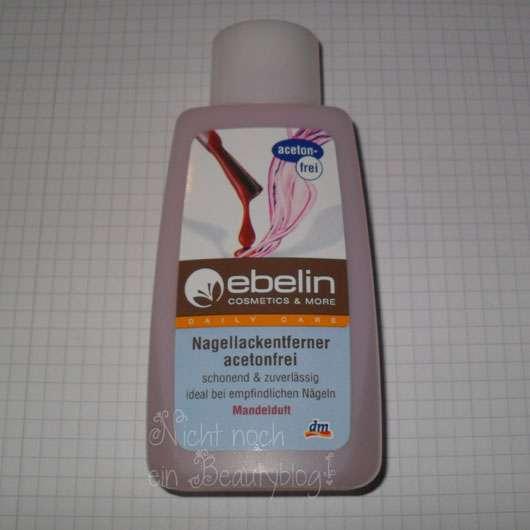 ebelin Nagellackentferner acetonfrei mit Mandelduft