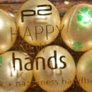 p2 happy new hands a box of luck + happiness handbath pearls (LE)