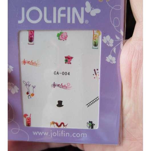 <strong>Jolifin</strong> Nageltattoos Silvester Nr. 4
