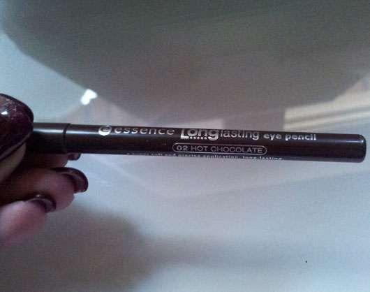 essence long lasting eye pencil, Farbe: 02 hot chocolate