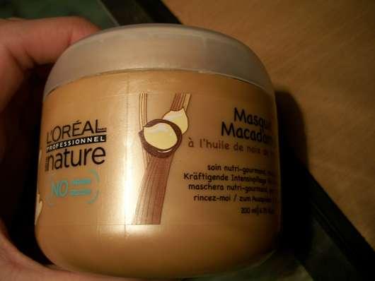 L'Oréal Professional nature Masque Macadamia