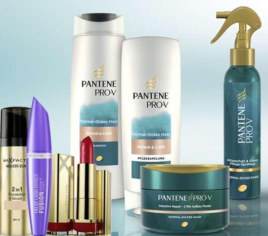 Gewinne 5 x 1 Max Factor & Pantene Pro-V Beauty-Set