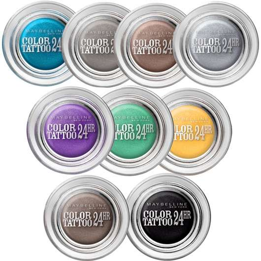 Maybelline Jade Eyestudio Color Tattoo Lidschatten