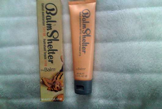 <strong>The Balm</strong> Shelter Tinted Moisturizer SPF 18