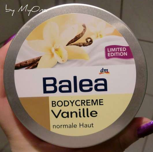 "Balea Bodycreme ""Vanille"" (Limited Edition)"