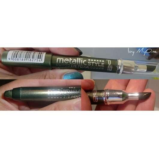 p2 cosmetics metallic style eye pencil, Farbe: 040 standing ovations