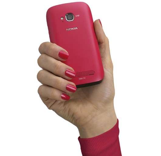 Gewinne ein pinkes Nokia Lumia 710 Smartphone