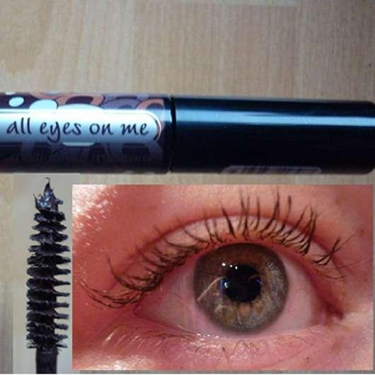 essence all eyes on me multi-effect mascara, Farbe: 02 deep brown