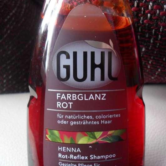 "Guhl ""Farbglanz Rot"" Henna Rot-Reflex Shampoo"