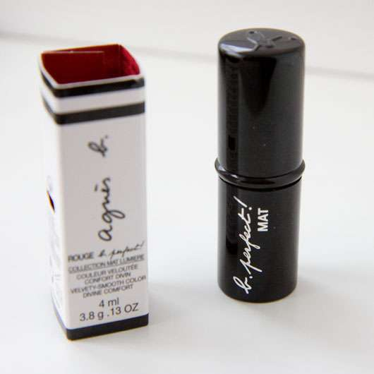agnès b. rouge b. perfect! Lippenstift, Farbe: E100 Bourgogne suède