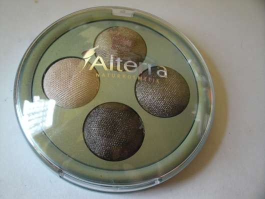 Alterra Lidschatten Quattro, Farbe: 02 Golden Brown