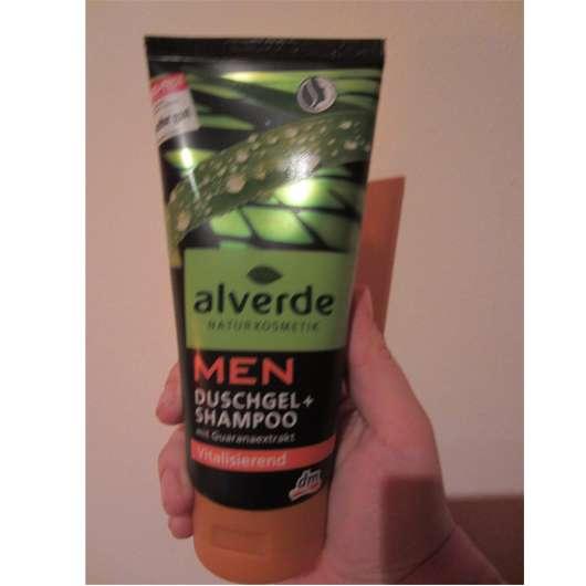 alverde Men Duschgel + Shampoo vitalisierend