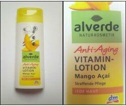 Produktbild zu alverde Naturkosmetik Anti-Aging Vitamin-Lotion Mango Acai