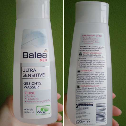Balea Med Ultra Sensitive Gesichtswasser