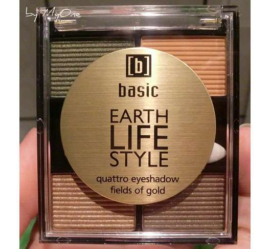 <strong>basic</strong> earth life style quattro eyeshadow fields of gold - Farbe: fields of gold (LE)