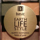 basic earth life style quattro eyeshadow fields of gold, Farbe: fields of gold (LE)