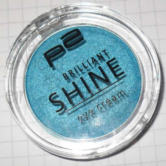 p2 brilliant shine eye cream, Farbe: 060 bombastic blue