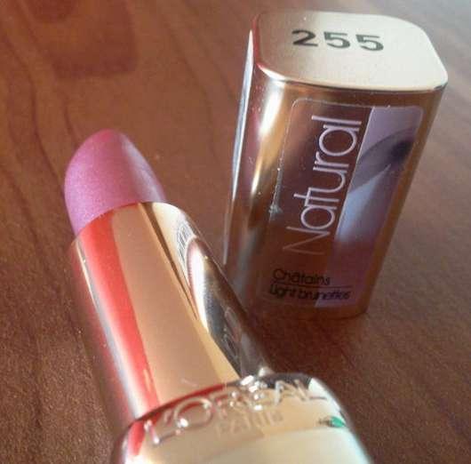 L'Oréal Paris Color Riche Natural Lippenstift, Farbe: 255 Blush in Plum