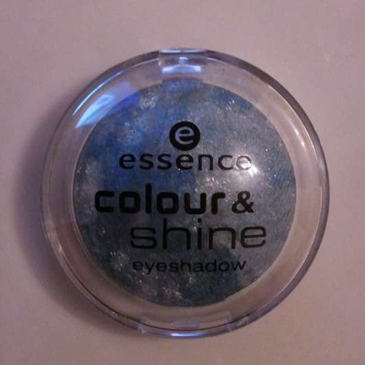 essence colour & shine eyeshadow, Farbe: 07 blue moon