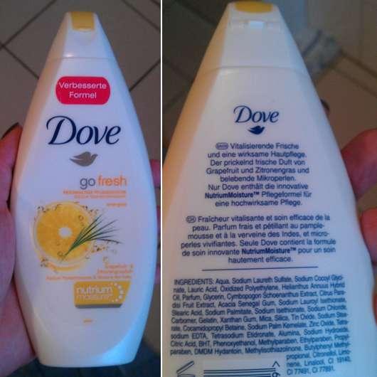 Dove go fresh energise Beauty Pflegedusche Grapefruit- & Zitronengrasduft