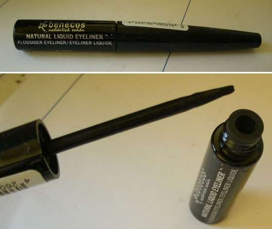 benecos Natural Liquid Eyeliner, Farbe: Schwarz (Urban Nature LE)