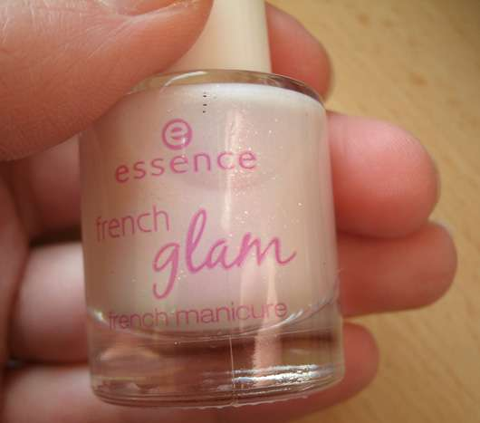 essence french glam french manicure, Farbe: 03 pink glam