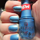 essence colour & go quick drying nail polish, Farbe: 75 Gleam in Blue