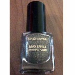 Produktbild zu Max Factor Max Effect Mini Nail Polish – Farbe: 20 Silver