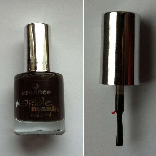 essence marble mania nail polish, Farbe: 02 who is mr. brown (LE)
