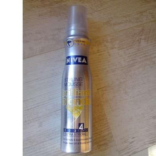 "Nivea Styling Mousse ""Brilliant Blonde"""