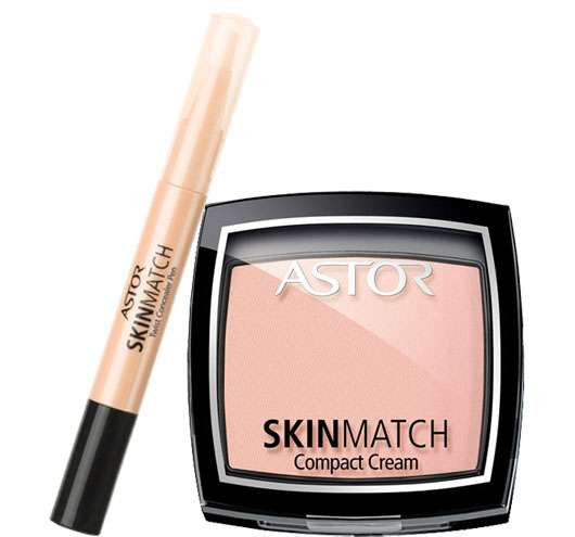 ASTOR SkinMatch Compact Cream & SkinMatch Concealer
