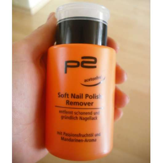 p2 Soft Nailpolish Remover