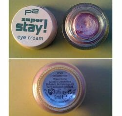 Produktbild zu p2 cosmetics super stay! eye cream – Farbe: 050 delicate rose