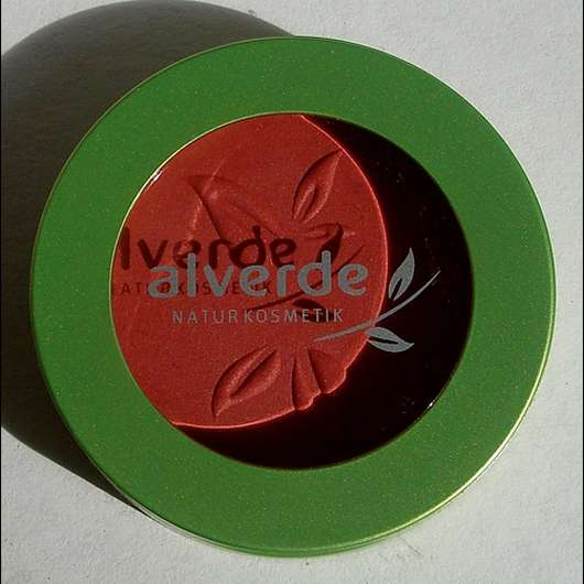 alverde Puderrouge, Farbe: 020 New Red (Modern Art LE)