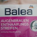 Balea Augenbrauen-Enthaarungsstreifen normale Haut