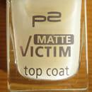 p2 matte victim top coat
