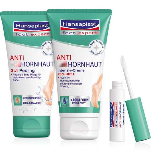 Neue Anti Hornhaut Serie von Hansaplast Foot Expert