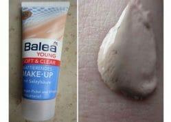 Produktbild zu Balea Young Soft & Clear Mattierendes Make-Up – Nuance: 02 Beige