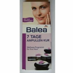 Produktbild zu Balea 7 Tage Ampullen Kur