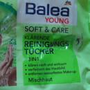 Balea Young Soft & Care Klärende Reinigungstücher 3in1