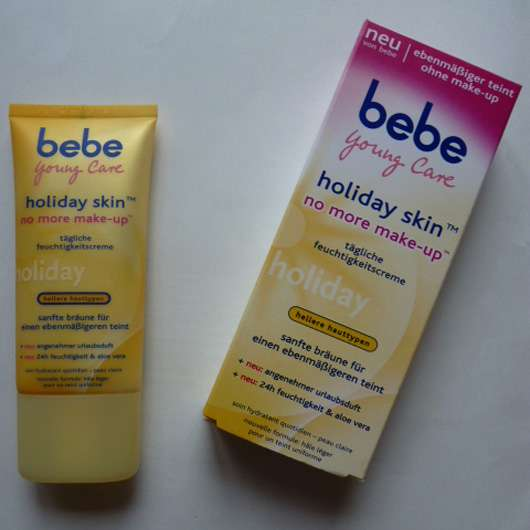 bebe Young Care holiday skin no more make-up (hellere Hauttypen)